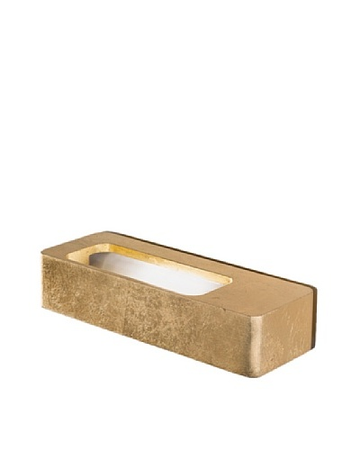 Icone Lingotto Wall Sconce, Gold Leaf