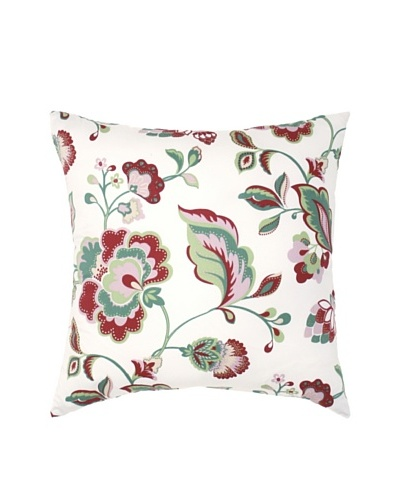 Image by Charlie Taylor Decorative Pillow, White/Multi, 20 x 20
