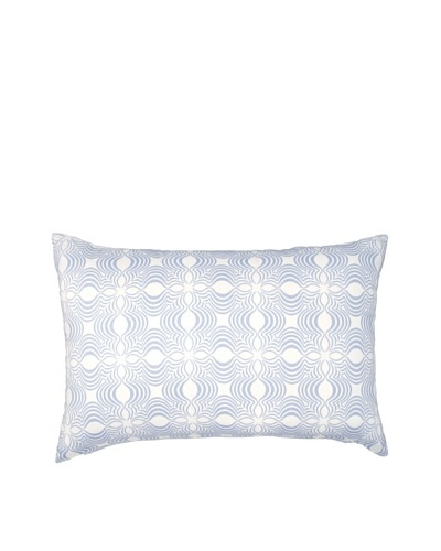 Image by Charlie Dynasty Decorative Pillow, Dream Blue/Off-White, 16 x 24