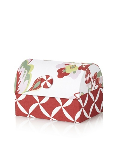 Image By Charlie Cotton Sateen Taylor Envelope Chest, Floral, Multicolor