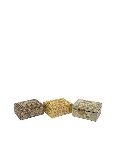 Set of 3 Kanan Wood Boxes
