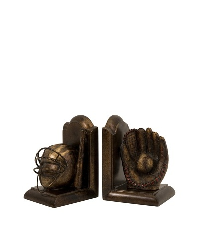 Set of 2 Baseball Bookends