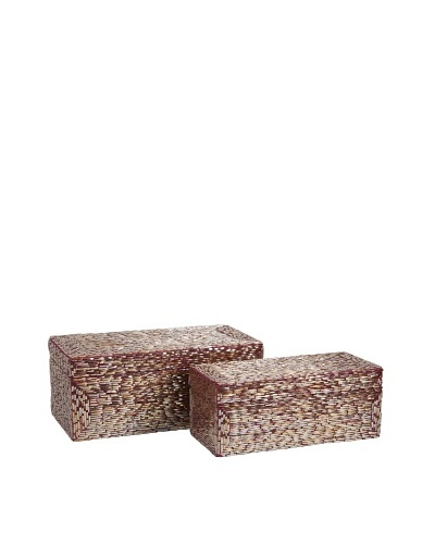 Set of 2 Pink Glimmer Boxes