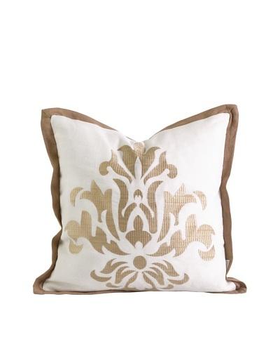 Ik Kassa Embroidered Pillow