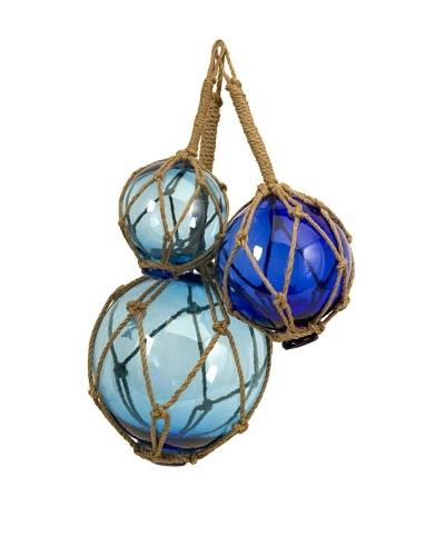 Set of 3 Buoyant Glass Floats