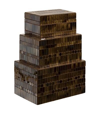 Set of 3 Chai Mosaic Boxes