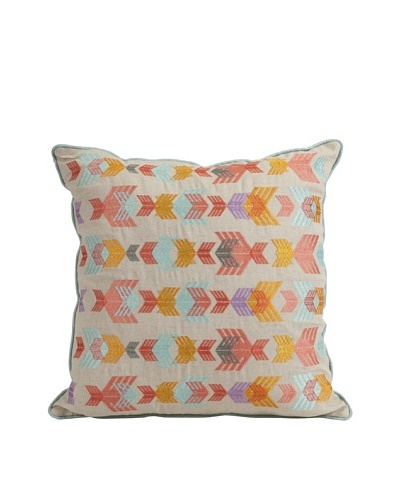 Zapata Embroidered Pillow