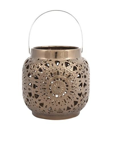 Metallic Cutwork Lantern, Small
