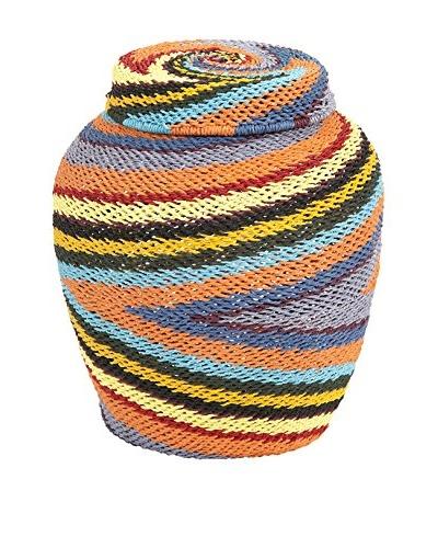 Saran Lidded Basket