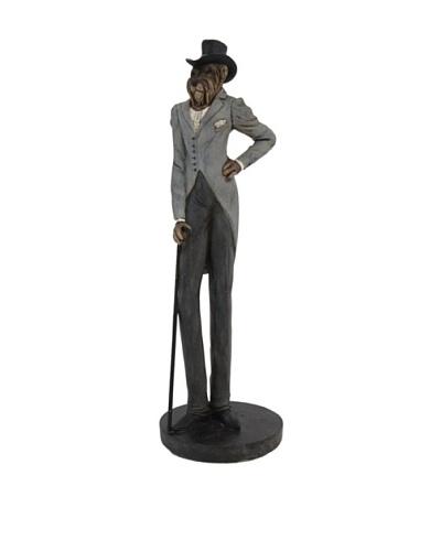 The Import Collection Jones Dog Figurine, Multi
