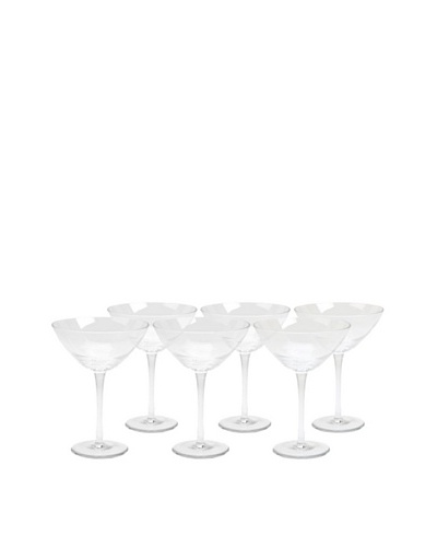 Impulse! Set of 6 Manchester Martini Glasses