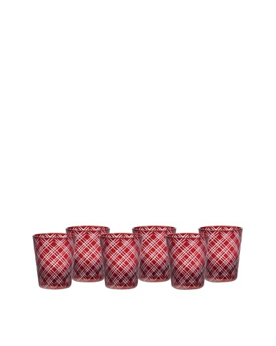 Impulse! Set of 6 Monceau Rocks Glasses
