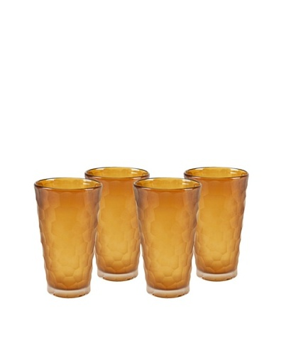 Impulse! Set of 4 Dwell Tumbler Glasses, Topaz