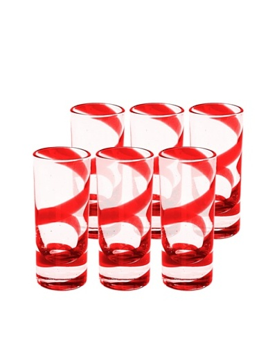 Impulse! Set of 6 Playa Shot Glasses