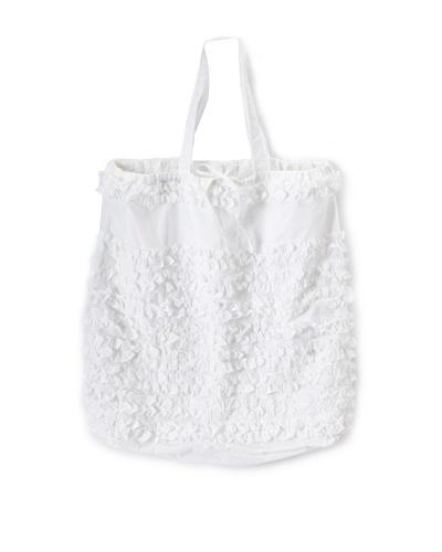 """India Rose Prom Night Laundry Bag, White, 24"""" x 30"""""""