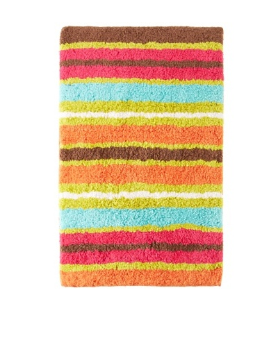 India Rose Kingston Bath Mat, Multi, 21 x 35