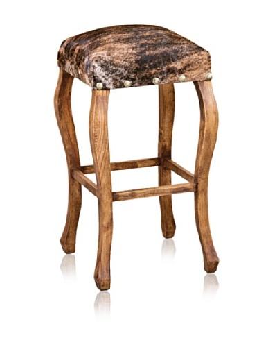 Horizon Furniture Woodbase Cowhide Barstool