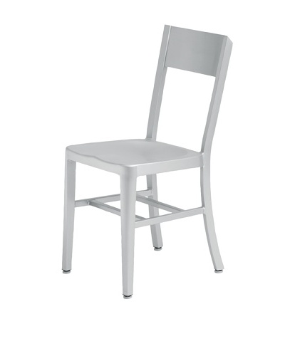 Industrial Chic Tribecca Chair, Aluminum
