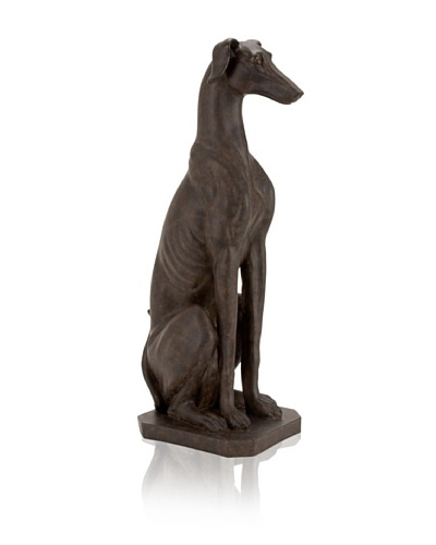 Industrial Chic Dog Sculpture