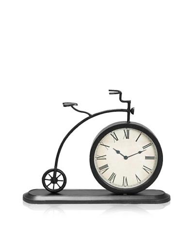 Industrial Chic Metal Bicycle Clock