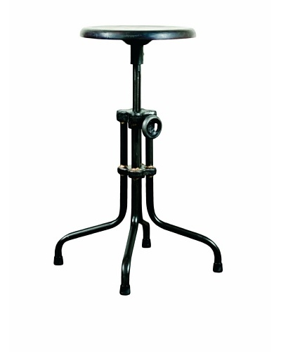 Industrial Chic Adjustable Stool, Sepele