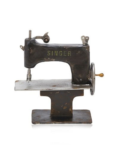 Industrial Chic Vintage-Style Decorative Sewing Machine