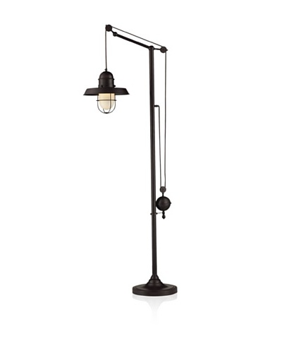 Dimond Lighting Farmhouse Oiled Bronze Floor Lamp