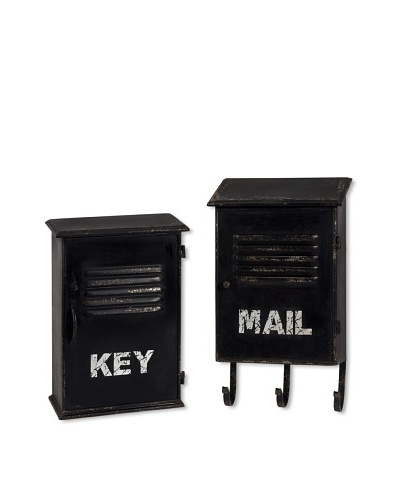 Set of 2 Alastor Key and Mail Boxes