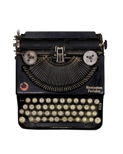 Remington Vintage Typewriter, Black