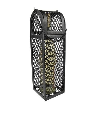Metrotex Iron Mesh Hinged Dome Box