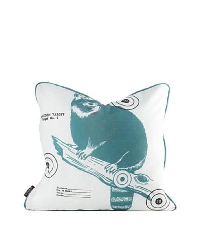 Inhabit Coon Bullseye Pillow, Cornflower BlueAs You See