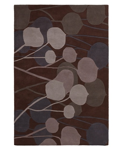 Inhabit Hand-Tufted New Zealand Wool Rug [Chocolate Cake]