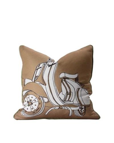Inhabit Moto Pillow, Camel & GrassAs You See
