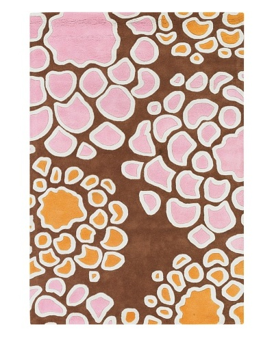 Inhabit Hand-Tufted New Zealand Wool Rug [Coffee/Candy]