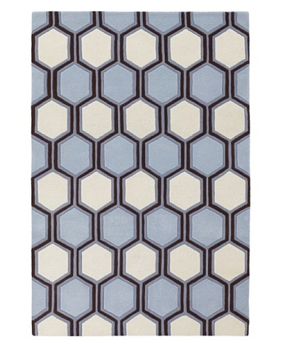 Inhabit Hand-Tufted New Zealand Wool Rug [Sky]