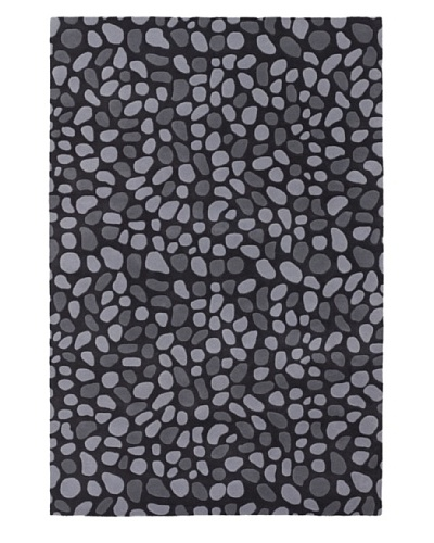 Inhabit Hand-Tufted New Zealand Wool Rug [Charcoal]