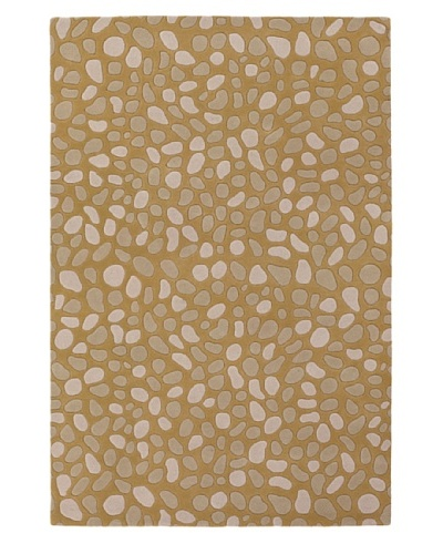 Inhabit Hand-Tufted New Zealand Wool Rug [Gold]