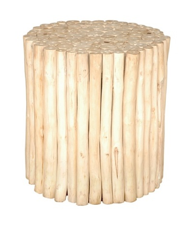 Jeffan Prelude Round Stool, Natural