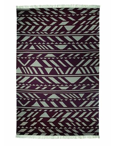 Angela Adams Zag Hand-Woven Wool Rug