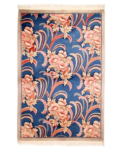 Roubini Chinese Art Deco Hand Carved Rug