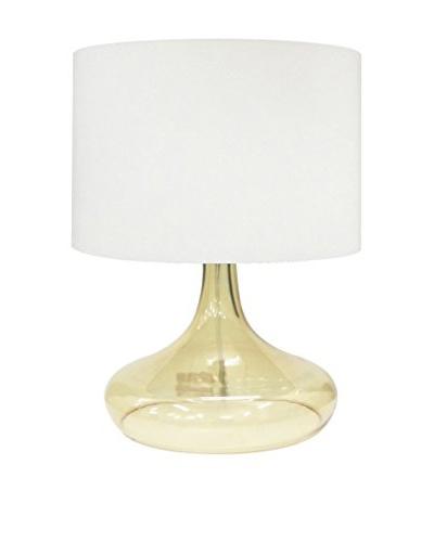 Integrity Lighting Opal Glass Table Lamp, Amber
