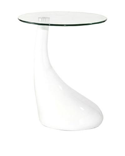 International Design USA Jupiter Coffee Table, White