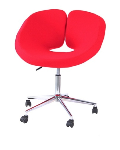 International Design USA Pluto Adjustable Leisure Chair, Red