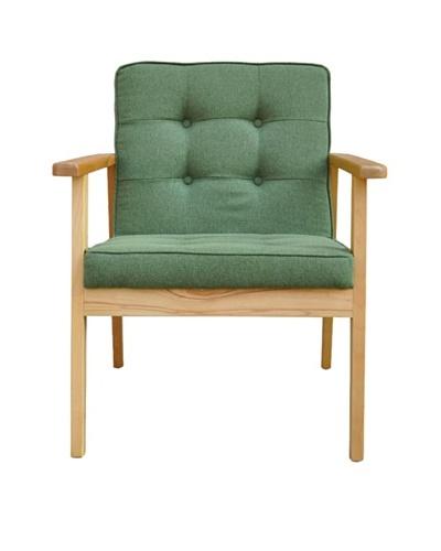 International Design USA Park Ave Lounge Chair, Grass Green