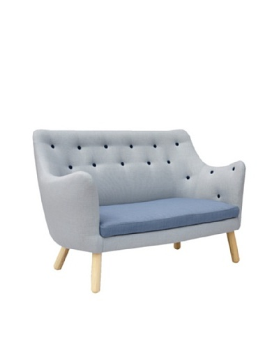 International Design USA Poet Sofa, Blue Multi