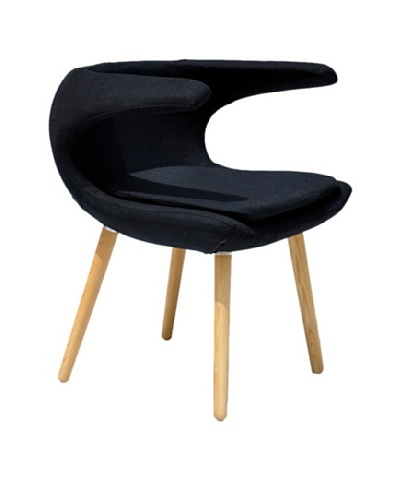 International Design USA Clipper Chair, Black
