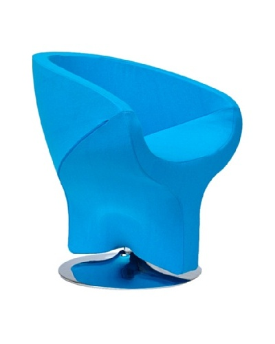 International Design USA Diamond Leisure Chair, Sky Blue