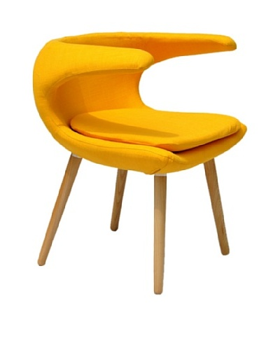 International Design USA Clipper Chair, Yellow