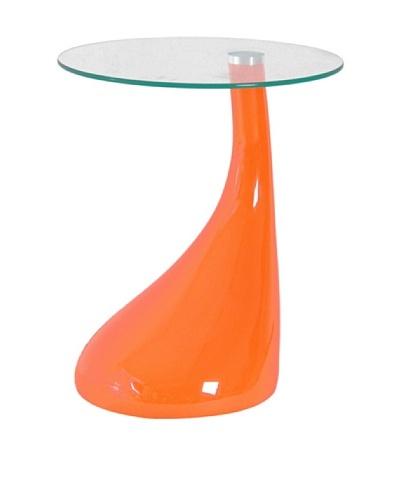 International Design USA Jupiter Coffee Table, Orange