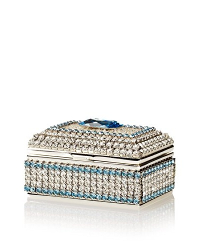 Isabella Adams Freshwater Pearl & Swarovski Crystal Ring Box, March